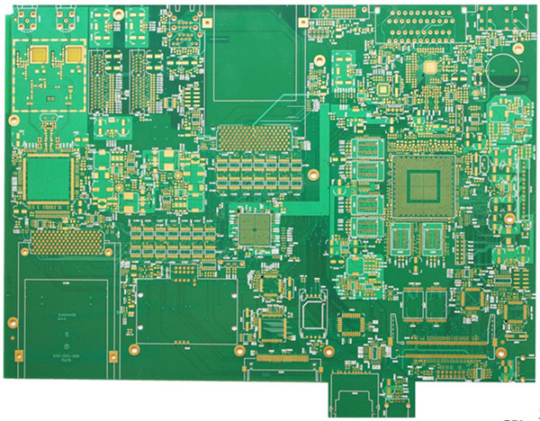 1.6mm Thickness Green Solder Mask HDI PCB Copy