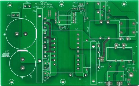 4 Layers 2.4mm board thickness Green Colour PCB Copy