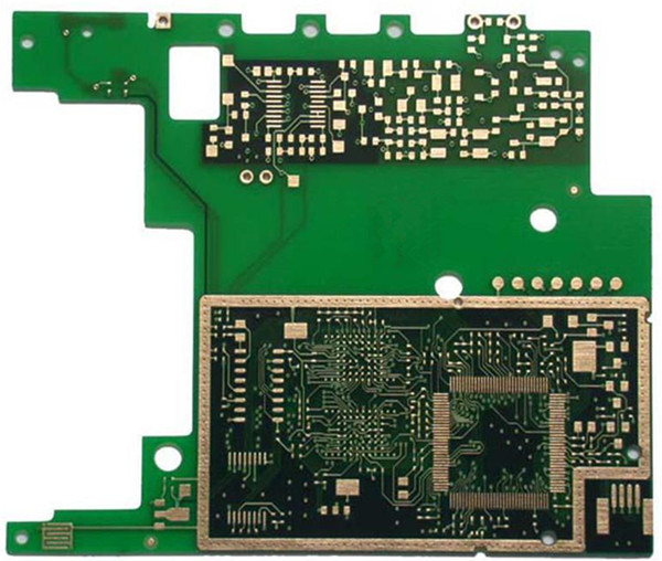 6 Layers 1.6mm Board Thickness flash Gold PCB Copy
